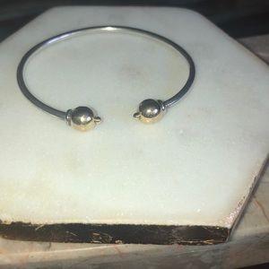 Jewelry - Cape Cod two toned 14k open cuff bracelet